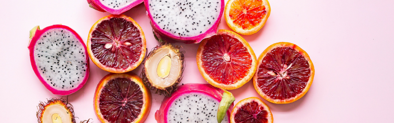 pink coloured fruit 1280 x 400px